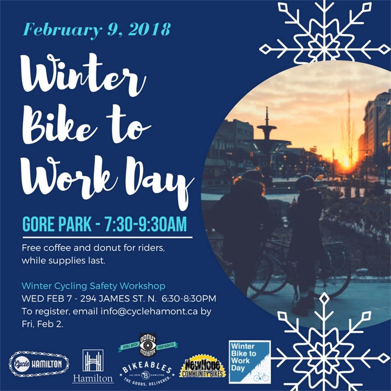 Winter Bike to Work Day