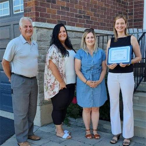 St. Marguerite d'Youville teacher recognized with Domenica Leone Award