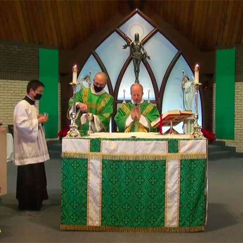 Livestreamed and pre-recorded masses in the Diocese of Hamilton
